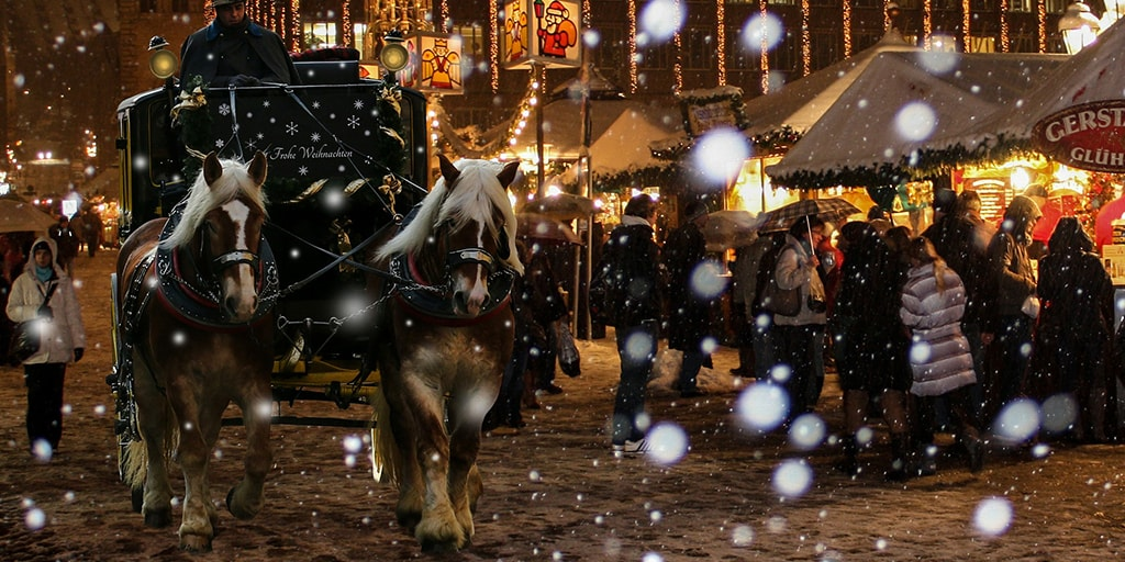 7 of the best Christmas markets in Europe! Nuremberg, Germany.