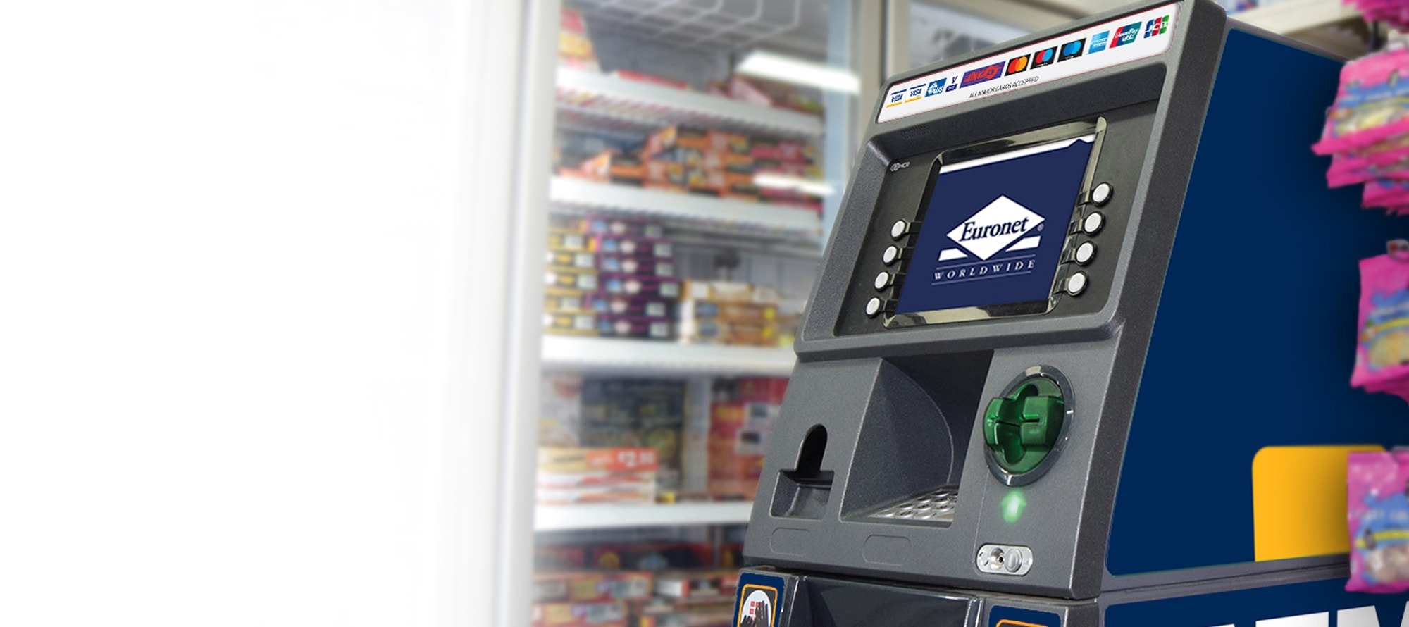 We will manage and maintain the ATM for you, ensuring a high level of service for your customers.