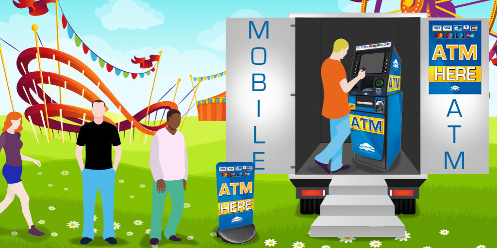 ATMs on the go! Mobile cash machines for everyones benefit…